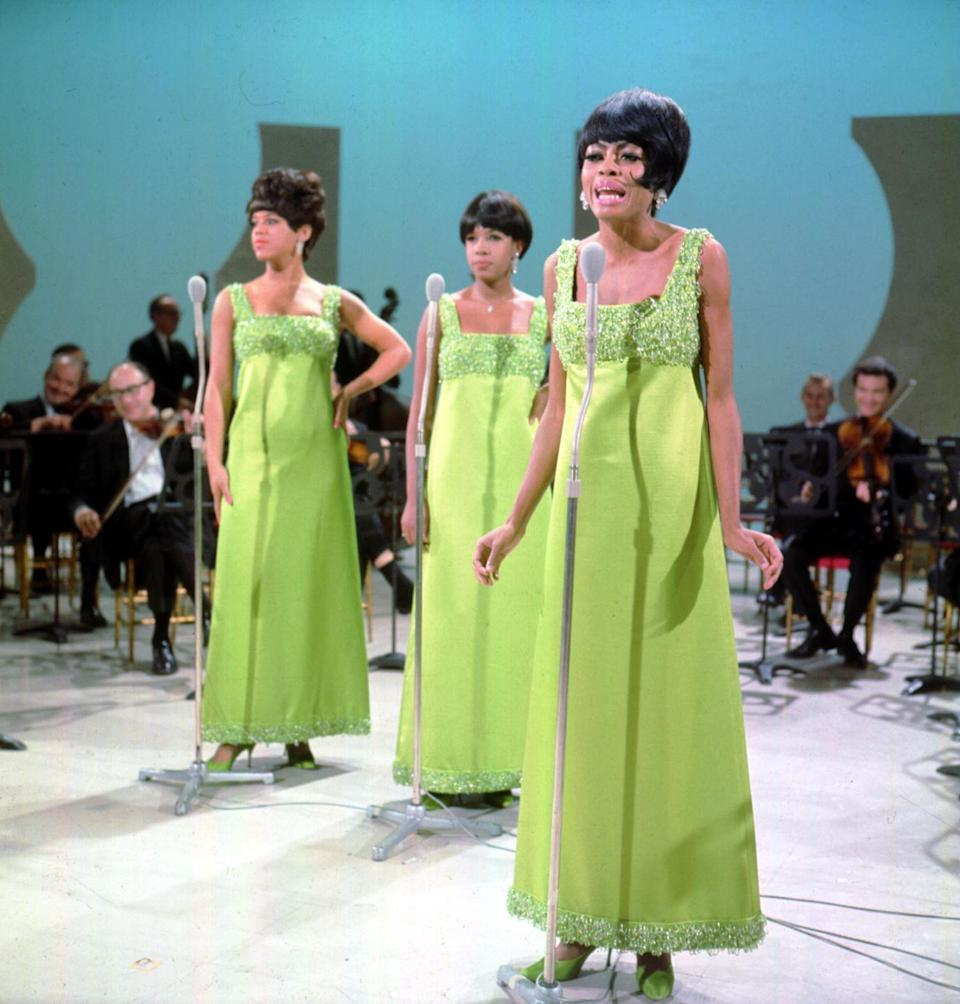 """<p>In the early '60s, the Supremes began working with Motown's writing group Holland–Dozier–Holland. The collaboration resulted in their <a href=""""https://www.notablebiographies.com/Ro-Sc/Ross-Diana.html"""" rel=""""nofollow noopener"""" target=""""_blank"""" data-ylk=""""slk:first number one hit"""" class=""""link rapid-noclick-resp"""">first number one hit</a>, """"Where Did Our Love Go?""""</p>"""
