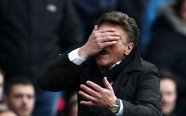 <span>Mazzarri could have 'no defence' for the trip to Spurs</span> <span>Credit: Rex Features </span>