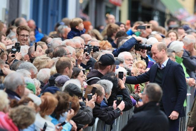 Royal visit to Cumbria