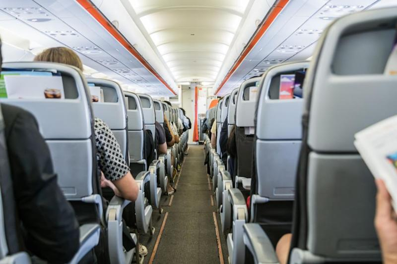 Some people were wondering if he was the worst plane passenger ever. Photo: Getty Images