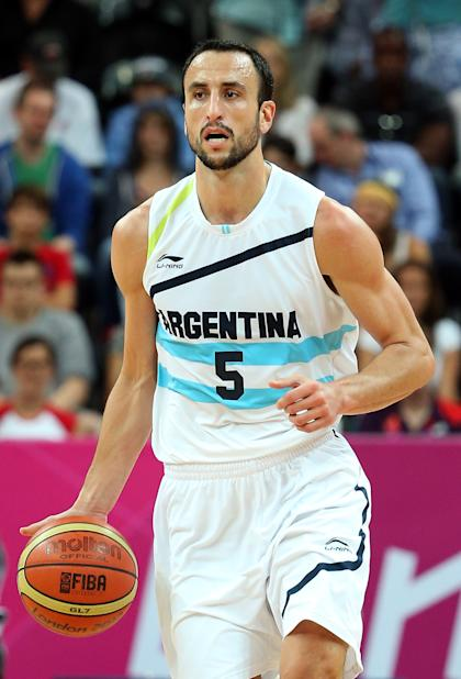 Manu Ginobili of Argentina (Getty Images)