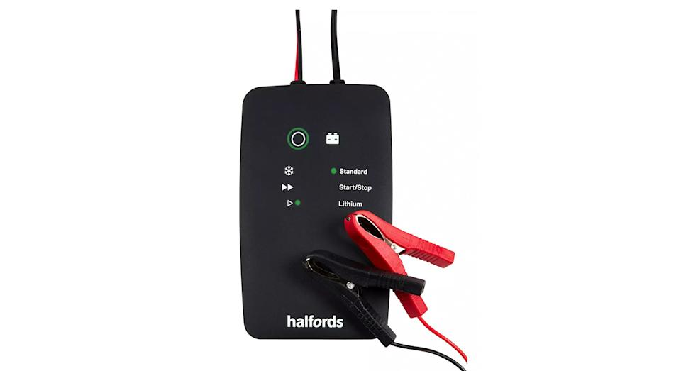 Halfords Advanced Smart Battery Charger Plus