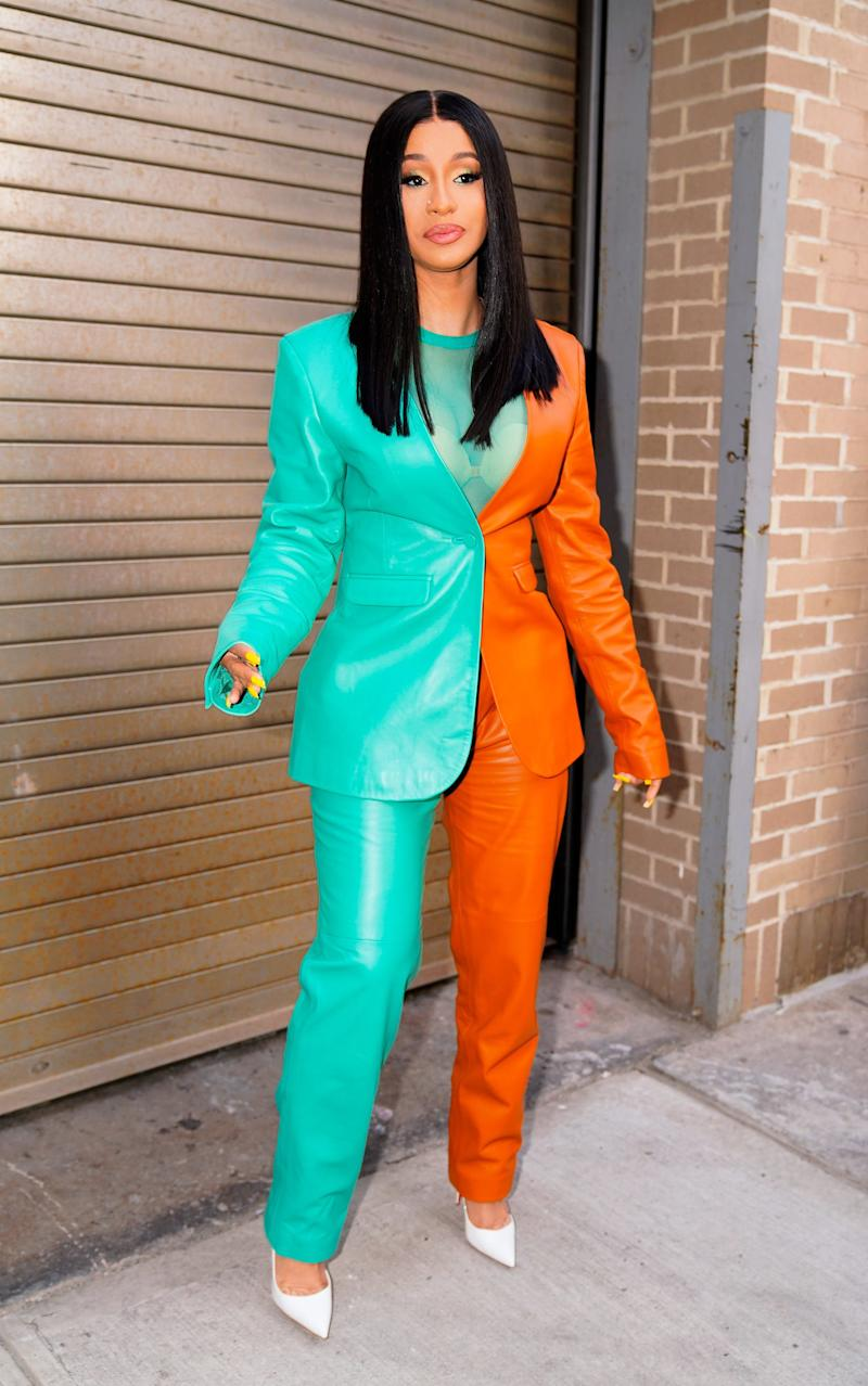 Cardi B Called Out President Trump for Arguing With Celebrities