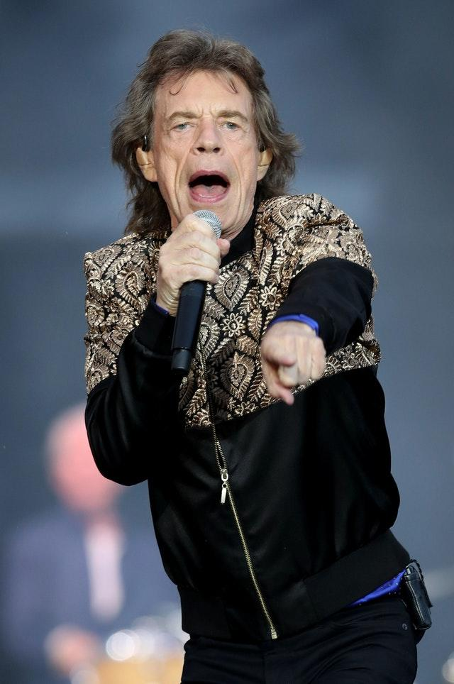 Sir Mick Jagger appears in the film