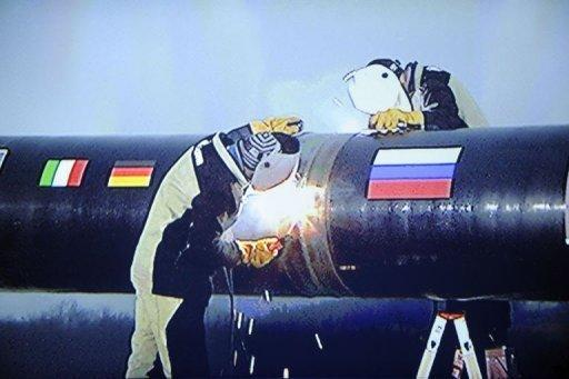 Putin launches construction of South Stream pipeline