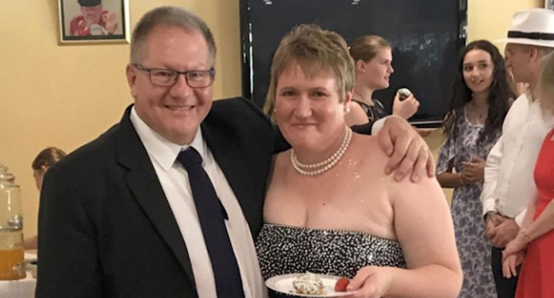 Lisa Hosking, also known as Lisa Dallow, is recovering in a Hamilton hospital. She's pictured here with her husband Gavin who has been confirmed dead. Source: Facebook