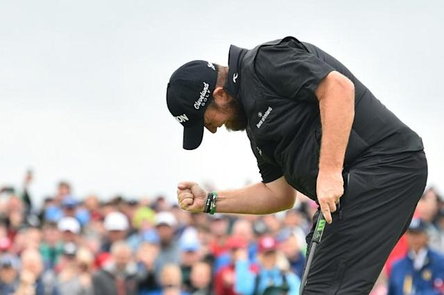 Lowry won the British Open by six shots on Sunday (AFP Photo/Glyn KIRK )