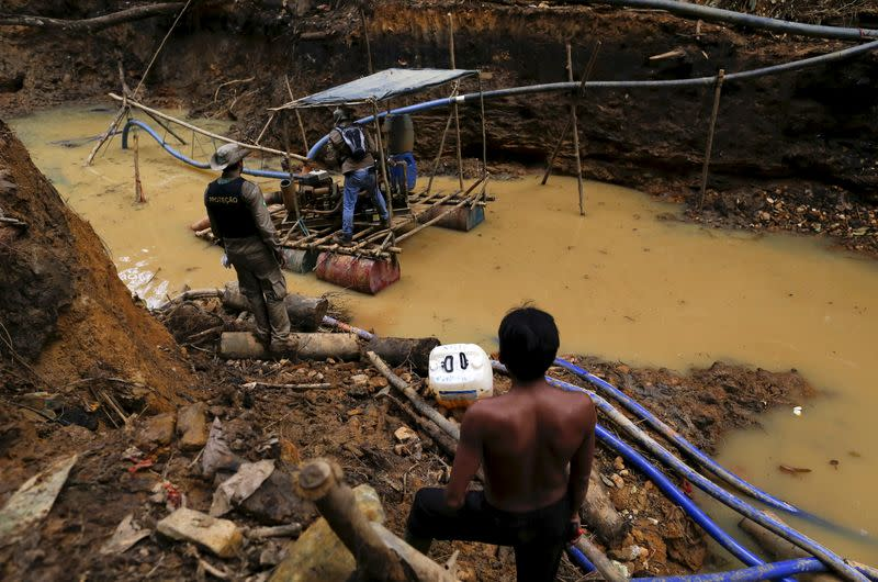 Brazil suspends raid on illegal miners in Amazon indigenous land