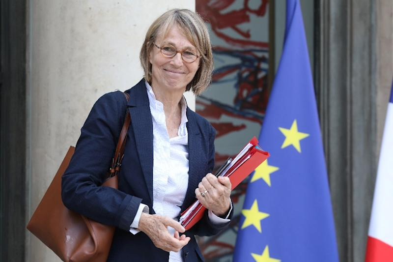 """File photo of French Culture Minister Francoise Nyssen who says """"a sure way of destroying freedom, faced with the current dangers, is to do nothing"""", as debate rages over a government bill to beat so-called fake news during election campaigns"""