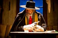 <p>Tarantino's snowbound western began life as a sequel to 'Django Unchained' but his 3-hour single-location epic managed to surpass his previous film in just about every sense. Supremely tense, laugh out loud funny, and unrelentingly violent, QT was back to his best. </p>