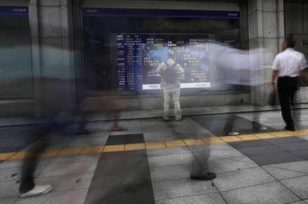 Asian markets were mixed in afternoon trade