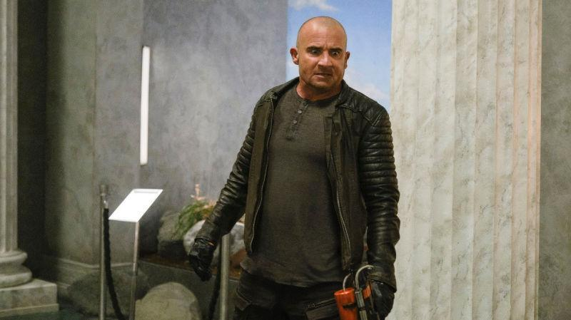 Dominic Purcell on DC's Legends Of Tomorrow