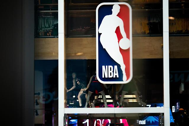 The NBA is planning to try something a little different Friday. (Photo by Jeenah Moon/Getty Images)