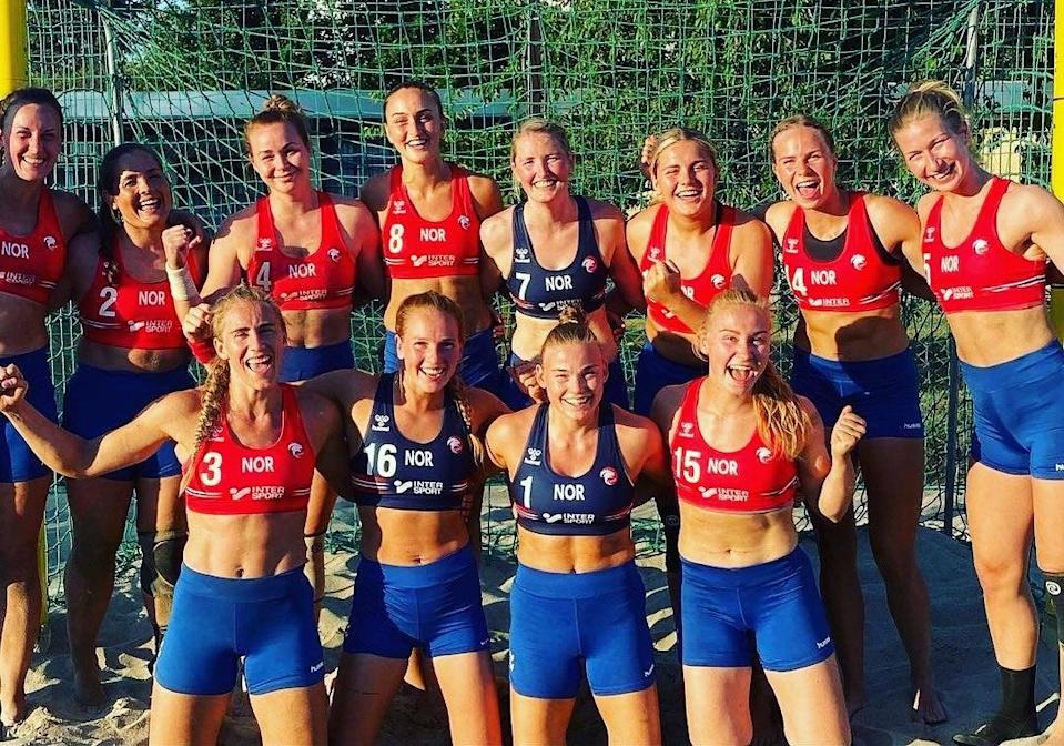 The Norwegian women's team elected to accept the fine rather than back down and wear bikini bottoms