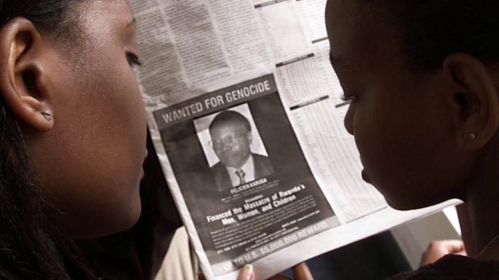 The authorities had been searching for Mr Kabuga for many years