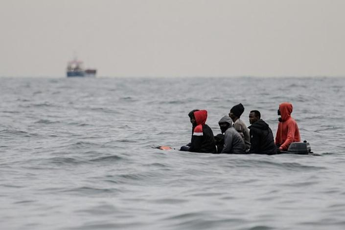 For three weeks, two AFP teams followed two migrants -- from Kuwait and Iraq -- in their bid to cross the Channel to Britain