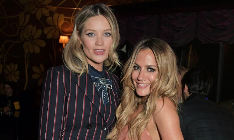 Laura Whitmore says Caroline Flack has been supportive and gracious. (Photo by David M. Benett/Getty Images for EE)
