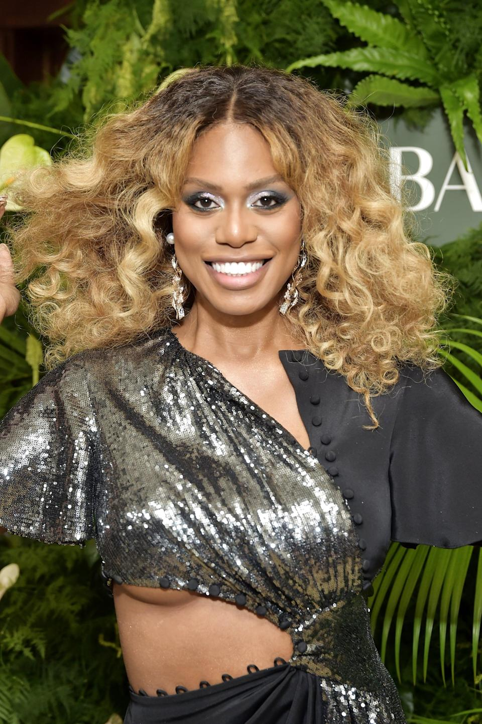 WEST HOLLYWOOD, CALIFORNIA - OCTOBER 29: Laverne Cox attends Prabal Gurung Celebrates 10 Years & Book Launch at Sunset Tower Hotel on October 29, 2019 in West Hollywood, California. (Photo by Stefanie Keenan/Getty Images for Prabal Gurung)