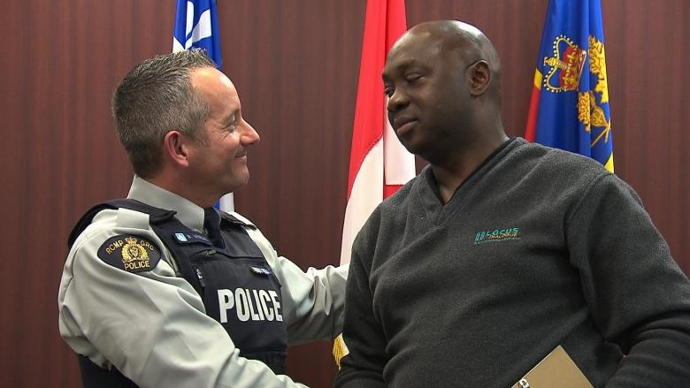 Asylum seeker reunites with RCMP officer he says saved his life