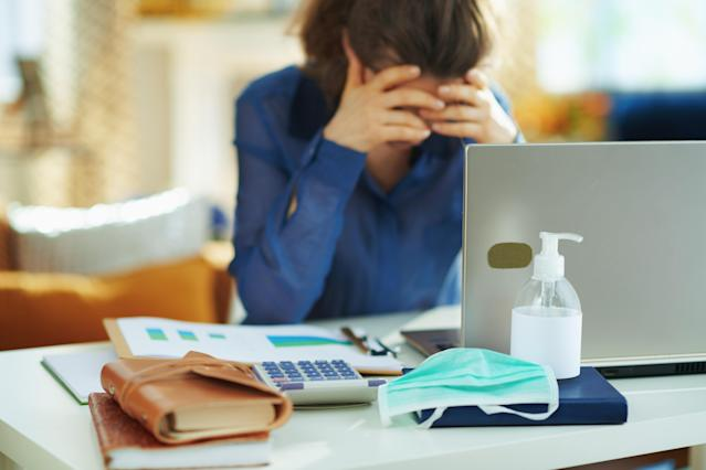 Stress levels have gone up during the pandemic both over health fears and economic uncertainty. Photo: Getty