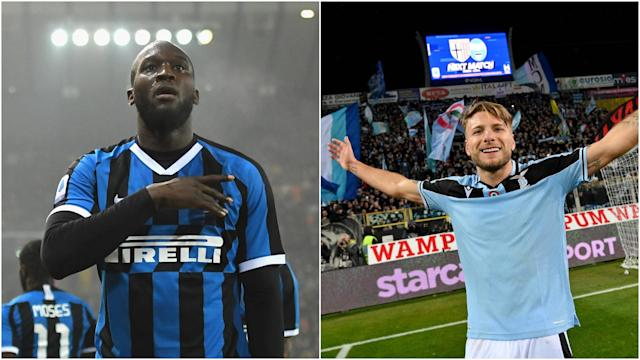 Lazio and Inter meet in a huge Serie A clash and we take a look at how Ciro Immobile and Romelu Lukaku compare this season.