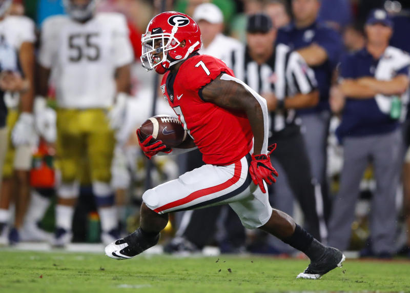 Georgia RB D'Andre Swift is a first-round talent, but not all NFL teams value the position that highly. (Getty Images)