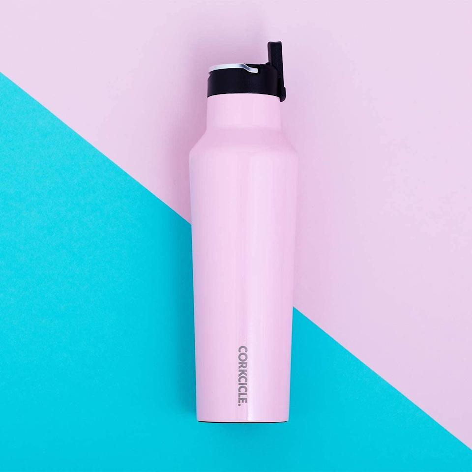 <p>This <span>Corkcicle Canteen Sport Collection</span> ($45) will keep water or other liquids super cold, and you'll fall in love with it.</p>