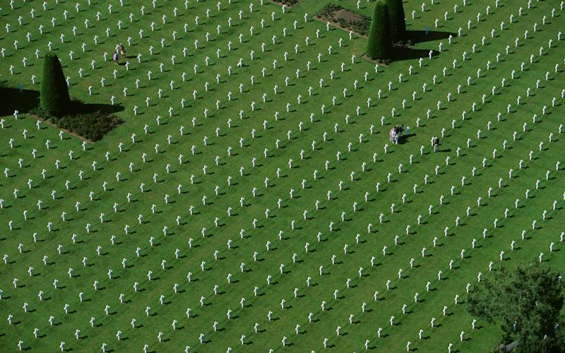 The American Cemetery in Normandy, France. | Camille Moirenc/hemis.fr/Getty Images