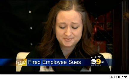 Teri James filed a lawsuit after being fired.