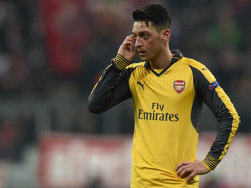 Ozil has been disappointing for Arsenal this season: Getty