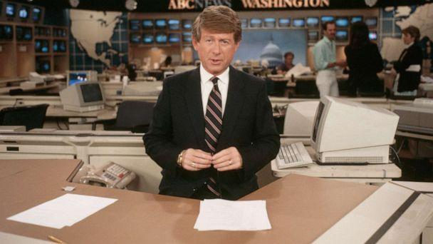 PHOTO: An undated photo shows Ted Koppel presenting ABC's 'Nightline.' (Corbis via Getty Images, FILE)