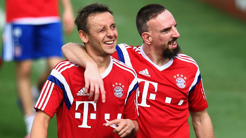 "VIDEO - Ribery in italiano a Rafinha: ""Sei una macchina, sei forte"""