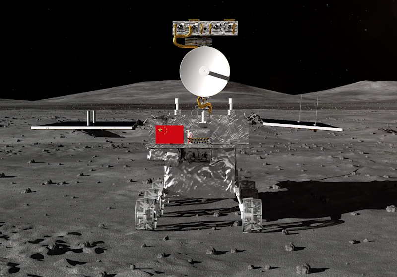 China's Chang'e-4 probe wakes up after first lunar night