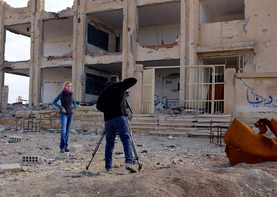 "<div class=""caption"">Ward, outside Hassakeh in Northern Syria</div><cite class=""credit"">Adam Dobbs</cite>"