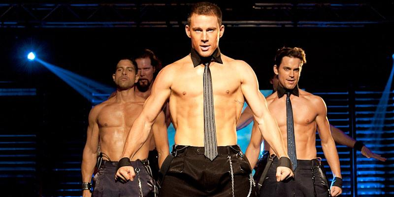 Channing Tatum in magic mike movie