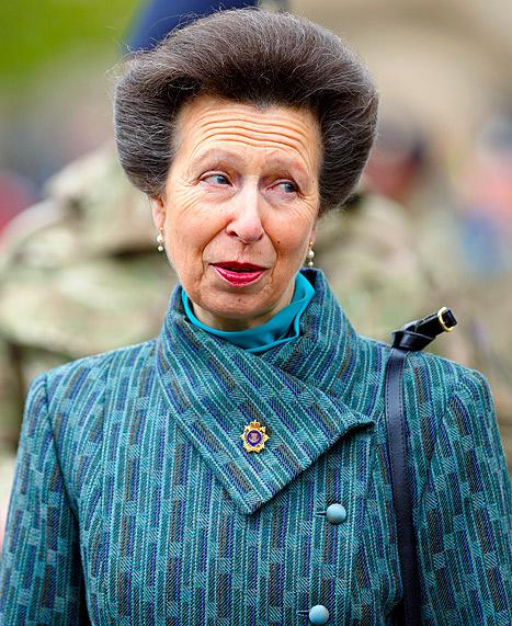 """Princess Anne On Royal Baby's Birth: """"Nothing To Do With Me"""""""