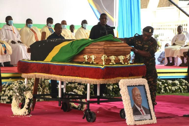 The late president will lie in state in several locations across Tanzania before his burial next Friday