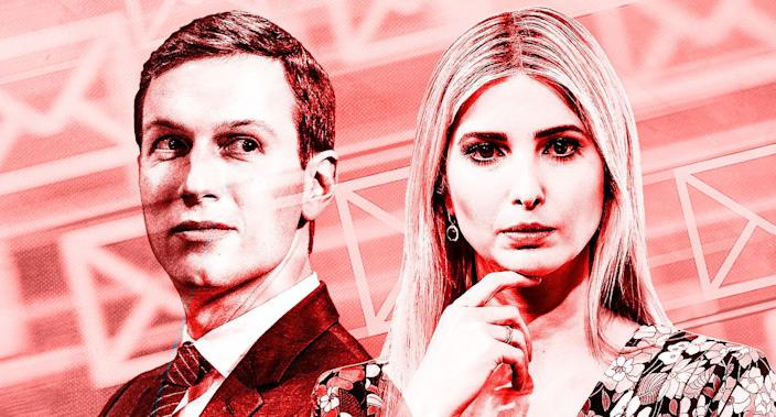 Jared Kushner and Ivanka Trump (Yahoo News photo Illustration; photos: AP, Getty Images)