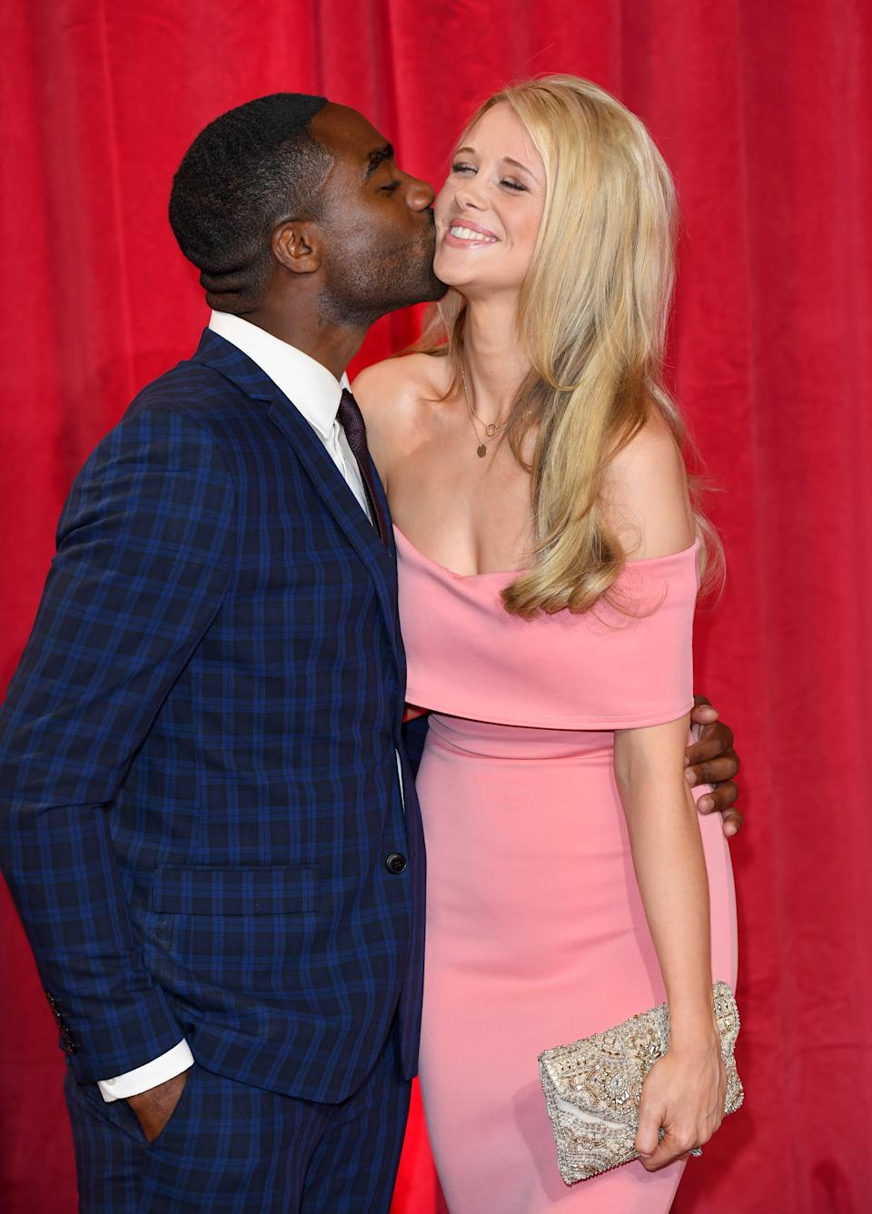 Ore Oduba and Portia Oduba recently celebrated 10 years since their first date. (Photo by Karwai Tang/WireImage)
