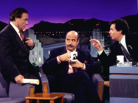 Hey now! Rip Torn, Jeffrey Tambor and Garry Shandling in the influential 'The Larry Sanders Show' (HBO)