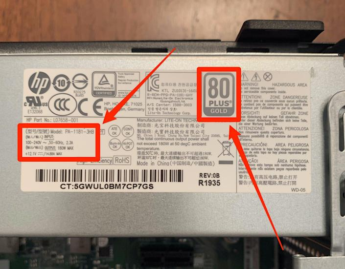 6    How to check power supply on PC