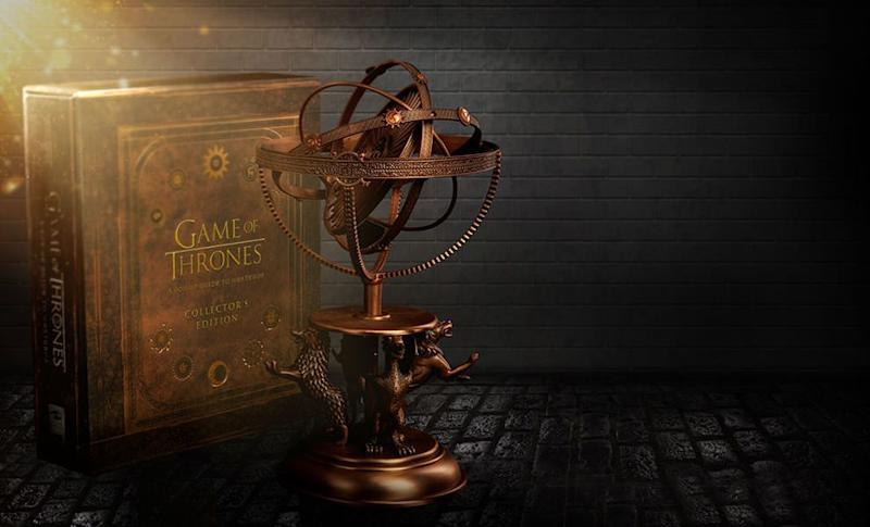 Sideshow's Astrolabe with a Pop-Up Guide to Westeros (Photo: Sideshow)