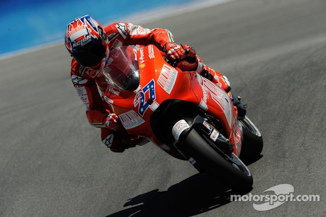 "#27 Casey Stoner <span class=""copyright"">Bridgestone Corporation</span>"