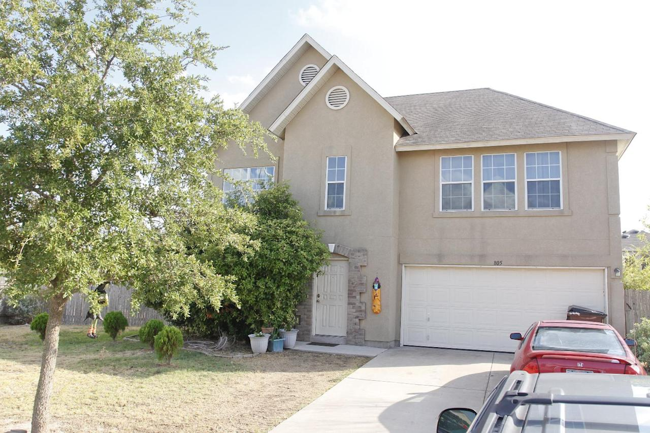 The home of Manssor Arbabsiar is seen in Round Rock, Texas, Tuesday, Oct 11, 2011. Arbabsiar, a 56-year-old U.S. citizen who also holds an Iranian passport, was charged in New York federal court with conspiring to kill the Saudi diplomat, Adel Al-Jubeir. (AP Photo/Jack Plunkett)