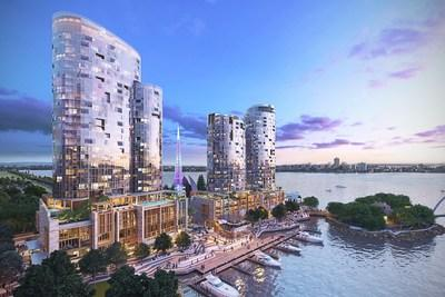 The debut of The Ritz-Carlton, Perth marks the re-entry of the brand into Australia.