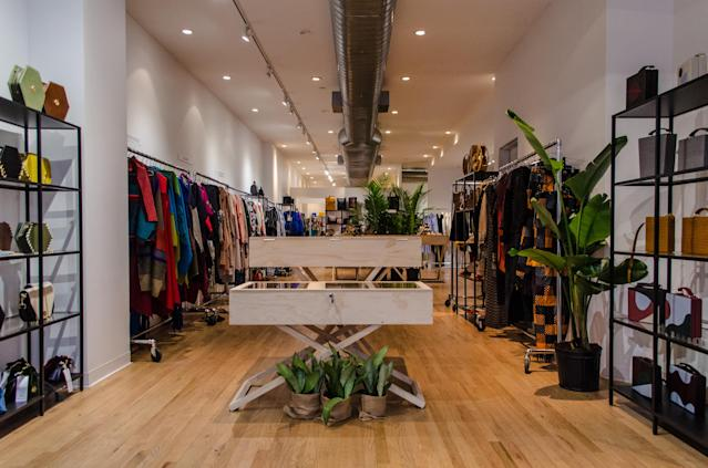 The Latin Curated retail space, open to the public until Sept. 30. (Photo: Isabella Dorelli)