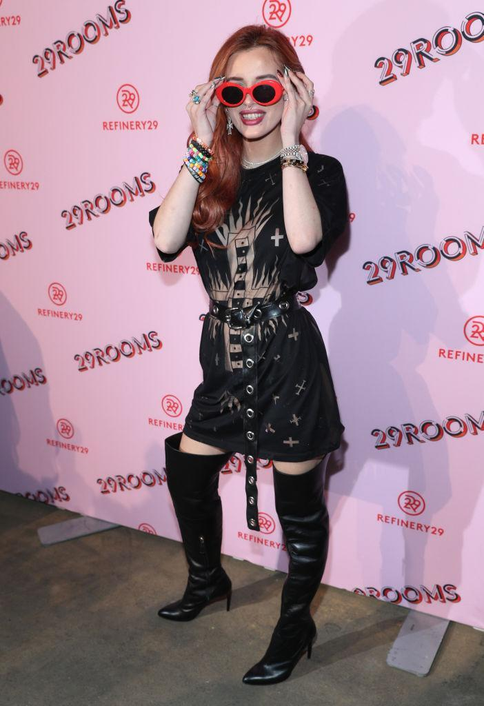 Bella Thorne attends 29Rooms Opening Night 2017 on September 7, 2017 in New York City.