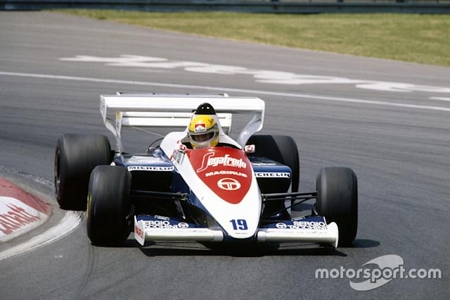 "1984 - Toleman TG184 <span class=""copyright"">Motorsport Images</span>"