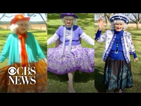 """<p>A person whose quarantine routine is anything but tired? Georgia's Betty McDonald, a 91 year old style phenom who is holding fashion shows in her yard every day. """"I mentioned to my caretaker that I sure miss getting dressed up,"""" she told <a href=""""https://www.cbs46.com/news/91-year-old-georgia-woman-stays-busy-doing-fashion-shows-while-quarantined/article_be285d24-8cab-11ea-83ee-435ed823c93e.html"""" rel=""""nofollow noopener"""" target=""""_blank"""" data-ylk=""""slk:CBS Atlanta affiliate WGCL"""" class=""""link rapid-noclick-resp"""">CBS Atlanta affiliate WGCL</a>. McDonald uploads her daily struts to YouTube, brightening her followers' days and ensuring her own outlook remains """"flashy.""""</p><p><a href=""""https://youtu.be/DEnn546W30s"""" rel=""""nofollow noopener"""" target=""""_blank"""" data-ylk=""""slk:See the original post on Youtube"""" class=""""link rapid-noclick-resp"""">See the original post on Youtube</a></p>"""