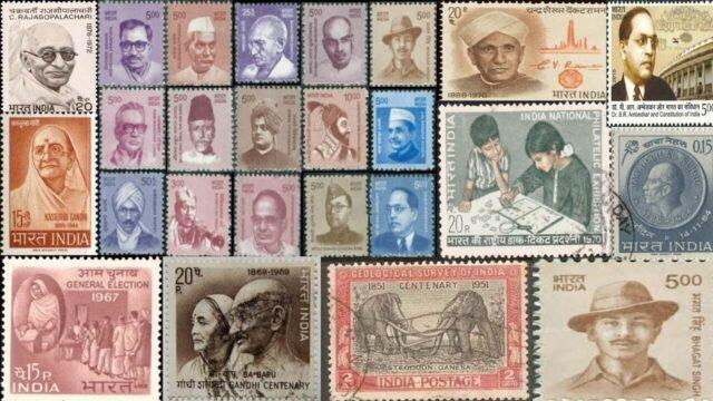 Stamps reflect the culture and history of a country